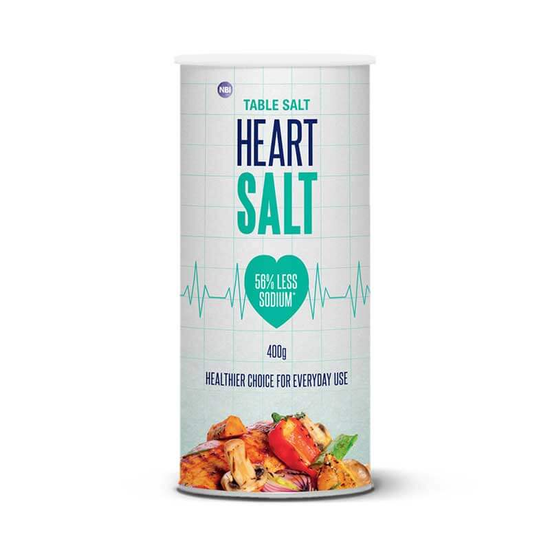 HEART SALT 200G - TABLE SALT SHAKER