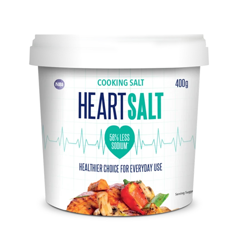 HEART SALT 400G - TABLE SALT BUCKET