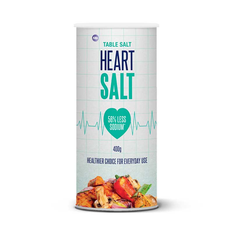 HEART SALT 400G - TABLE SALT SHAKER