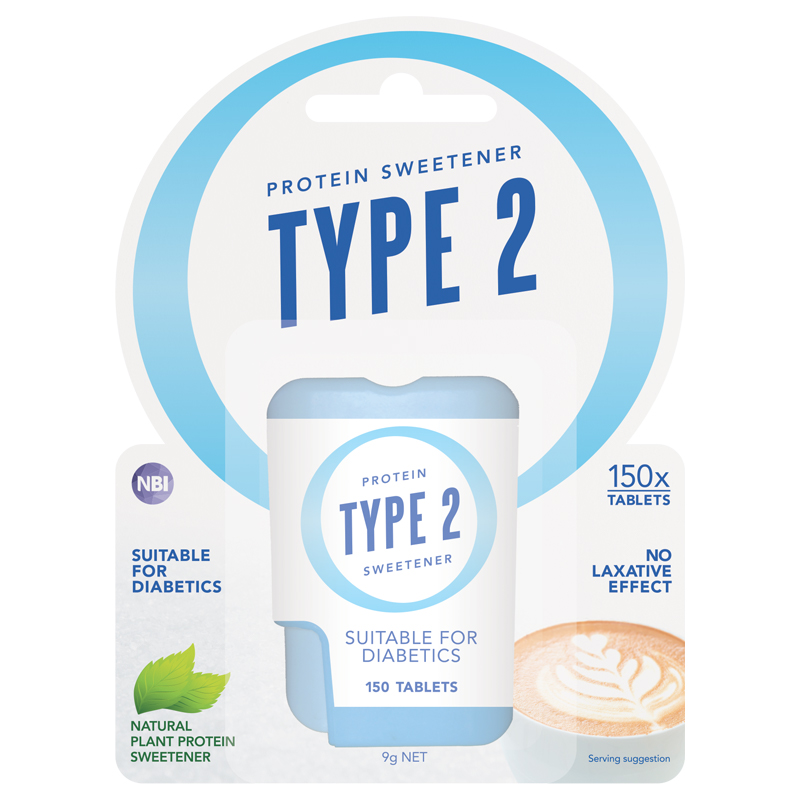 TYPE 2 PROTEIN SWEETENER 150 TABLETS